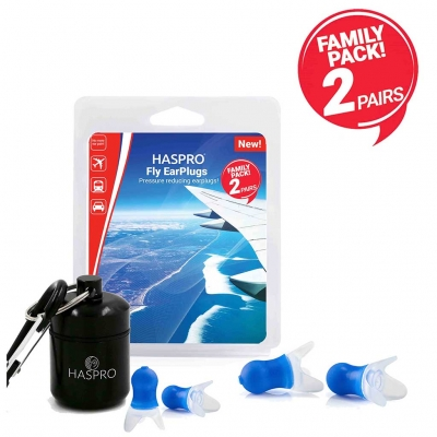 Haspro Fly hörselskydd Family pack